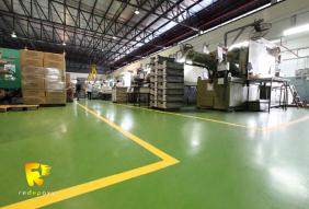 Sơn sàn Epoxy nhà máy nhựa Rạng Đông – Bắc Ninh